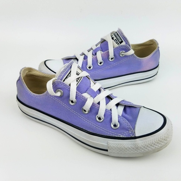 46cfca650882de Converse Shoes - CONVERSE All Star Light Purple Low Top Sneakers